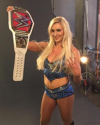 Charlotte Flair WWE 8x10 Color Photo # 21