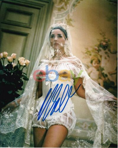 Monica Bellucci Autographed 8x10 reprint photo