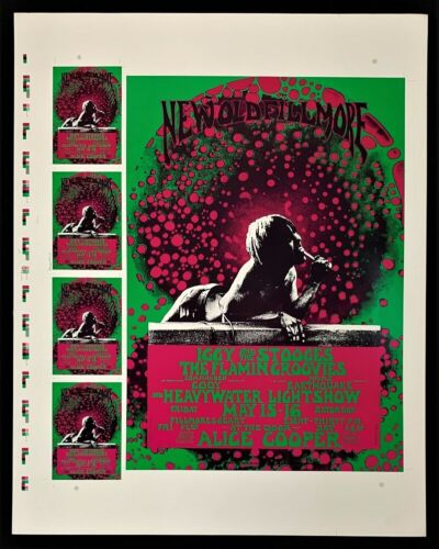 Iggy And The Stooges POSTER Fillmore Flamin Groovies Commander Cody Alice Cooper
