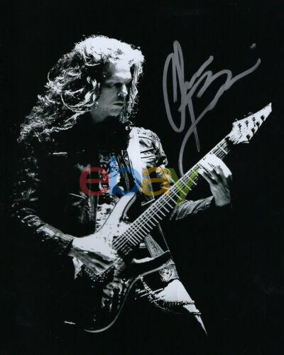 Megadeth Guitarist CHRIS BRODERICK Signed Autographed 8x10 Photo reprint