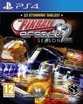 Pinball Arcade Season 2 | PlayStation 4 PS4 New