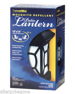 thermacell cordless mosquito repellent patio lantern ebay. Black Bedroom Furniture Sets. Home Design Ideas