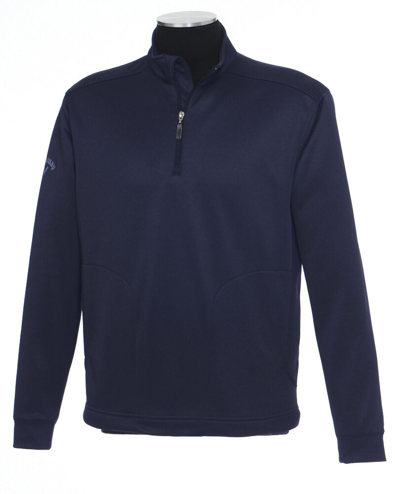Callaway Golf Mens S-XL 2XL 3X 4XL 1/4 Zip Fleece Pullover Chevron ...