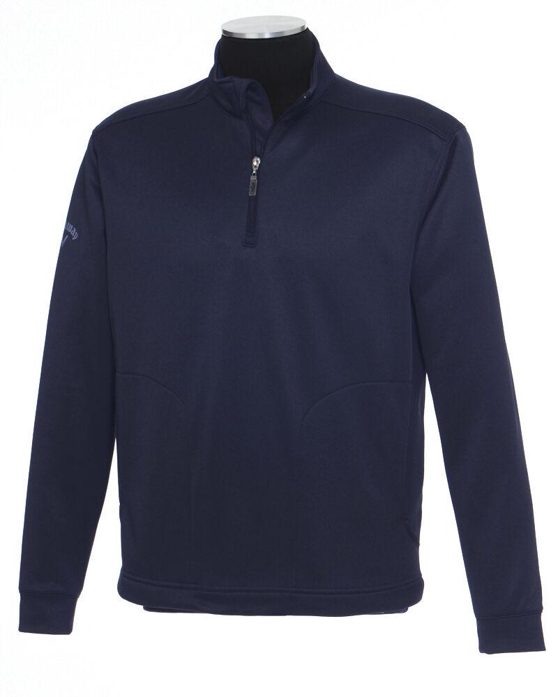 Callaway Golf Mens S-XL 2XL 3X 4XL 1/4 Zip Fleece Pullover Chevron ...
