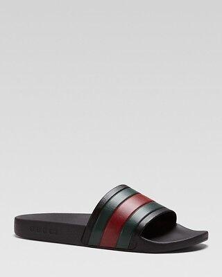 NIB Gucci Men's Rubber Slide Sandals size 7-13