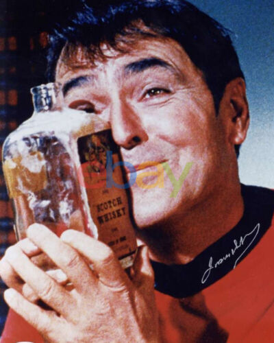 James Doohan Signed Autographed 8x10 Color Photo Star Trek reprint