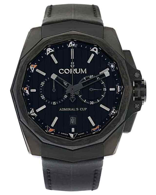 CORUM ADMIRAL'S CUP AC-ONE 45 CHRONOGRAPH AUTOMATIC MEN'S WATCH, MSRP $8,700 - watch picture 1