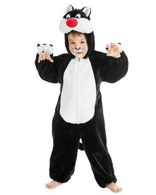 Costume Carnevale Gatto Travestimento Bambini Cat PS (Carnevale Bambini Kostüm)