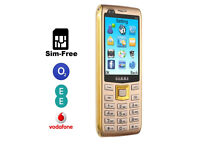 Gamma S11 Dual-CameraBig Screen SIM-Free Mobile Phone 2200Mah Big Battery DUAL SIM GSM Quad-Band