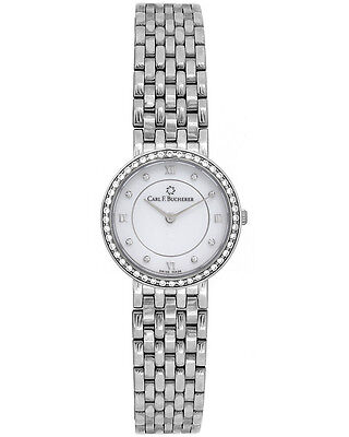 Carl F. Bucherer 18K White Gold Adamavi Ladies Watch - 00.10308.02.25.31