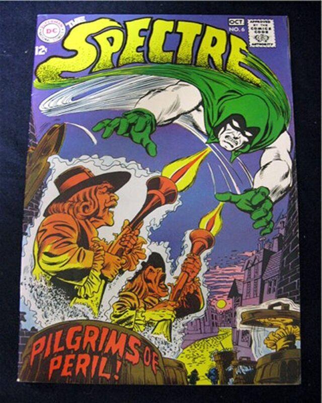 SPECTRE #6 1ST SERIES DC VF