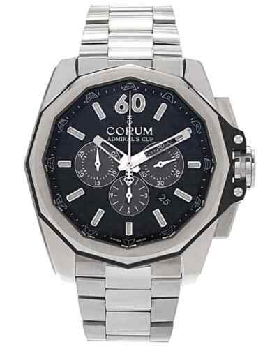 CORUM ADMIRAL AC-ONE 45 CHRONOGRAPH TITANIUM AUTOMATIC MEN'S WATCH MSRP $10,150 - watch picture 1