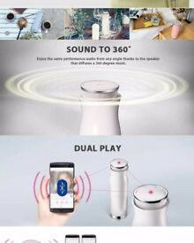 LG MUSIC flow Sound 360 Portable Bluetooth Speaker ONLY LONDON