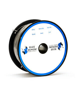 308lfc-o .035 Mig Flux Core Gasless 1 Lb Spool Welding Wire Blue Demon