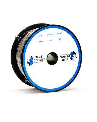 308lfc-o .035 Mig Flux Core Gasless 1 Lb Spool Welding Wire Blue Demon
