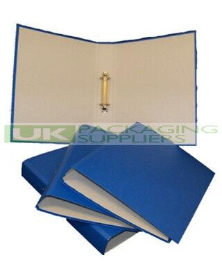 1 QUALITY BLUE A4 SIZE RING BINDER FILE FOLDER MAX 200 SHEETS FILING STORAGE