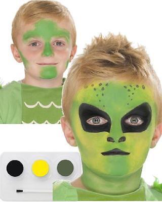 Pintura de la Cara Make hasta Halloween Carnaval Kit Trucos Alien Accesorio