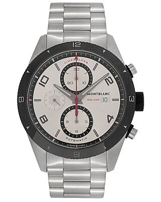ac0f2bf863dd44 Montblanc Timewalker Chronograph Automatic Stainless Steel Men s Watch  116099
