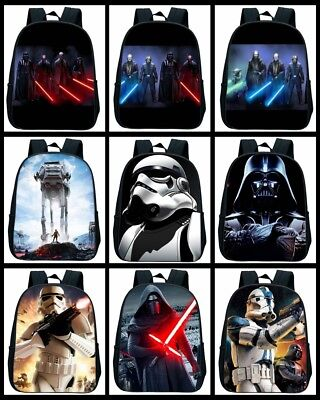 Star Wars 3D Print Backpack For Children Boys Girls Bag Best Gift (Best Star Wars Gifts For Kids)