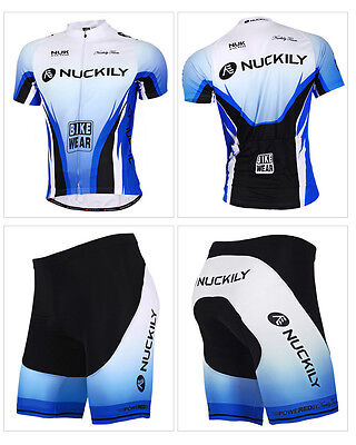 Mens Cycling Jerseys Cycle Gear Bike Gel Padded Shorts Clothing Bicycle Apperal