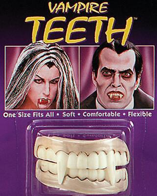 Vampire Teeth Dracula Halloween Fancy Dress Soft Fangs - Dracula Teeth Halloween