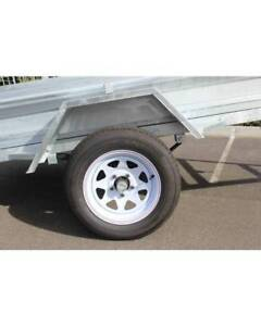 8x5 CAGED TRAILER HIRE $150 for 7days, OR $40 PER DAY.