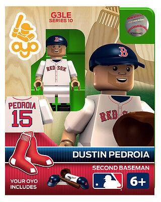 Dustin Pedroia OYO Boston Red Sox MLB Mini Figure NEW G3 Boston Red Sox Girls Mini