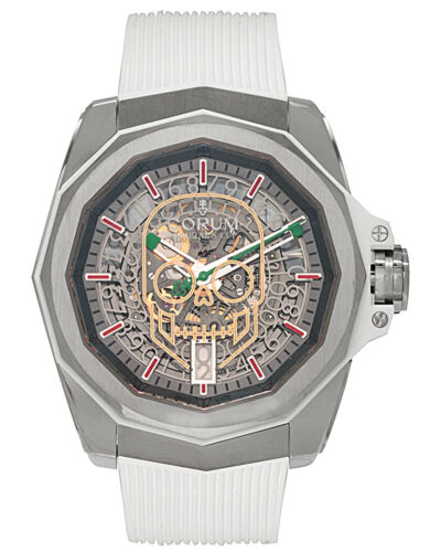 CORUM ADMIRAL AC-ONE 45mm  SQUELETTE SKULL AUTOMATIC MEN'S WATCH $11,500 - watch picture 1