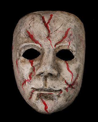 Mask Michael Myers-Halloween-Horror-Paper Mache Venetian -1900-V81