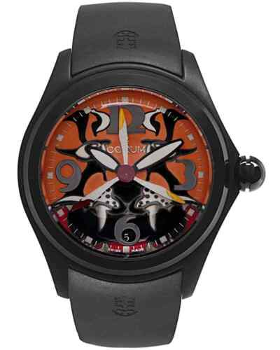 CORUM BUBBLE 47mm TIGER LIMITED 88 PVD & STAINLESS AUTOMATIC MEN'S WATCH  $4,200 - watch picture 1
