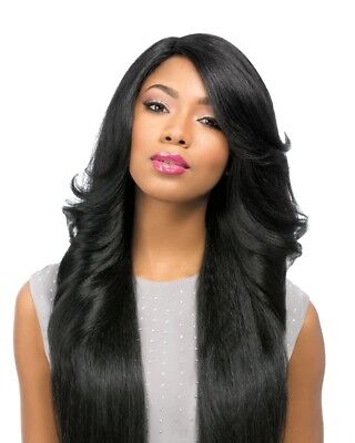 PERM WEDGE - SENSATIONNEL SYNTHETIC EMPRESS CUSTOM LACE FRONT WIG LONG FLIP