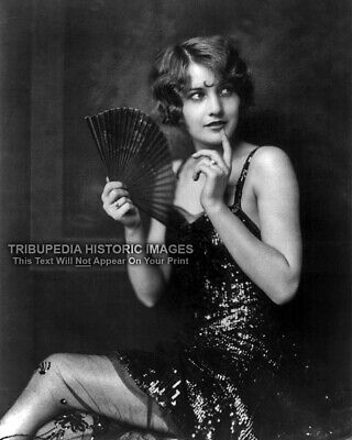 1920s Vintage Photo - Barbara Stanwyck - Ziegfeld Follies Beautiful Flapper - 20s Flapper Girls
