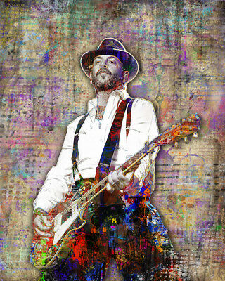 MIKE NESS Pop Art Poster, Mike Ness of SOCIAL DISTORTION 16x20 Free Shipping