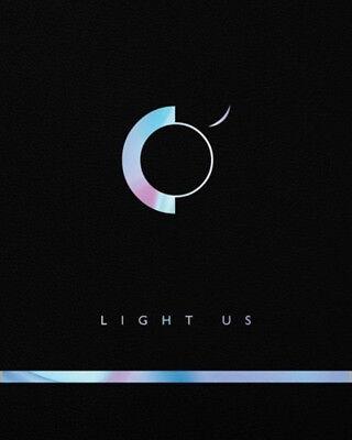 ONEUS [LIGHT US] 1st Mini Album CD+Photo Book+Photo Card+Message+Sticker SEALED