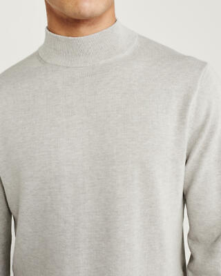 ABERCROMBIE AND FITCH MOCK NECK SWEATER