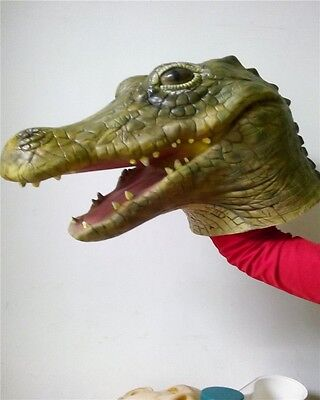 1PC Magic Costume Crocodile Head Mask For Halloween Costume Theater Party Cool - Cool Costume For Halloween Party