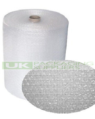 1 SMALL BUBBLE WRAP ROLL 600mm WIDE x 100 METRES LONG PACKAGING CUSHIONING - NEW