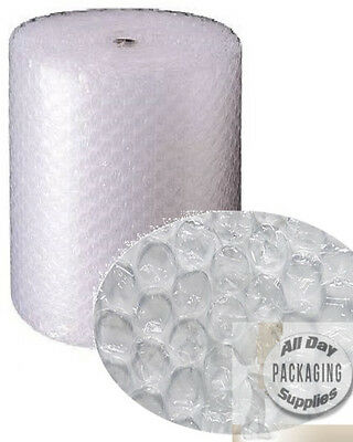 6 ROLLS OF BUBBLE WRAP SIZE 1000mm (1 METRE) HIGH x 50 METRES LONG LARGE BUBBLES