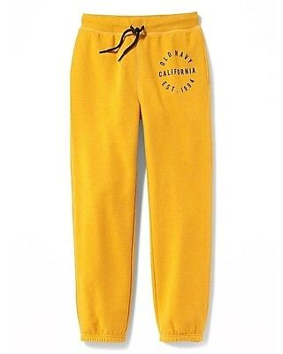 Clearance Sale School Old Navy Trendy Logo-Graphic Fleece Joggers for Boys! (Boys Pants Clearance)
