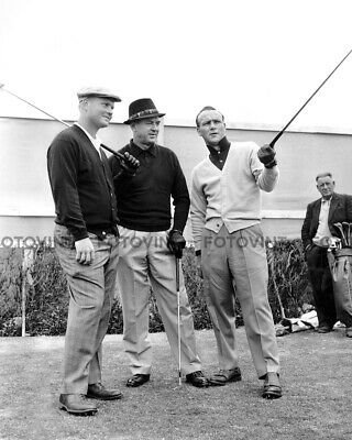 Nicklaus Photo (JACK NICKLAUS Photo ARNOLD PALMER SAM SNEAD - Golf Picture Print 8x10 or)
