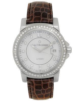 Carl F. Bucherer Patravi Autodate Diamond Unisex Watch - 00.10617.08.77.11