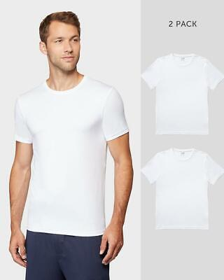 32 Degrees COOL, Base Layer Short Sleeve Tee White 2 Pack, Large OPEN -