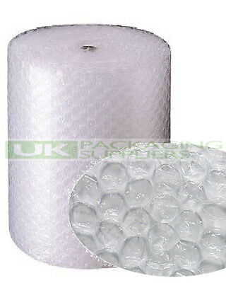 1 LARGE BUBBLE WRAP ROLL 1000mm (1m) WIDE x 50 METRES LONG PACKAGING - NEW