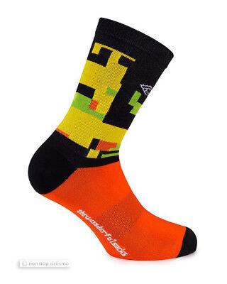 Offiziell Cinelli Hoch Fahrrad Socken Italo 79 Camo ein Paar - Made in Italy