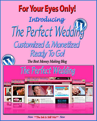 Wedding Blog Self Updating Website - Clickbank Amazon Adsense Video News Pages