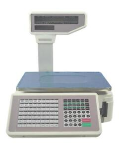 New-Commercial-Digital-Price-Computing-Scale-55-lbs-with-Label-Printer-110V     - FREE SHIPPING