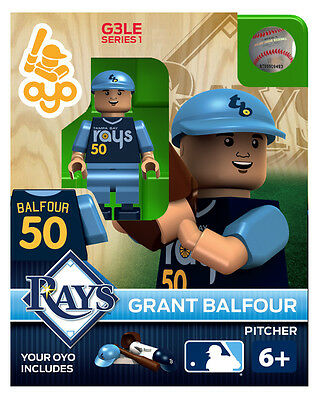 Grant Balfour MLB Tampa Bay Rays Oyo Mini Figure NEW G3