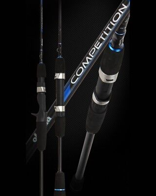 (OKUMA COMPETITION 6' Fishing Baitcast Rods UL L M Rod Power Casting Spinning )