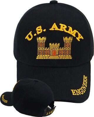 US Army Engineer Ball Cap OEF OIF OIR WWII Korea Vietnam Kosovo Gulf War Hat