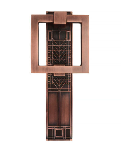 Frank Lloyd Wright Tree of Life Door Knocker - Antique Copper